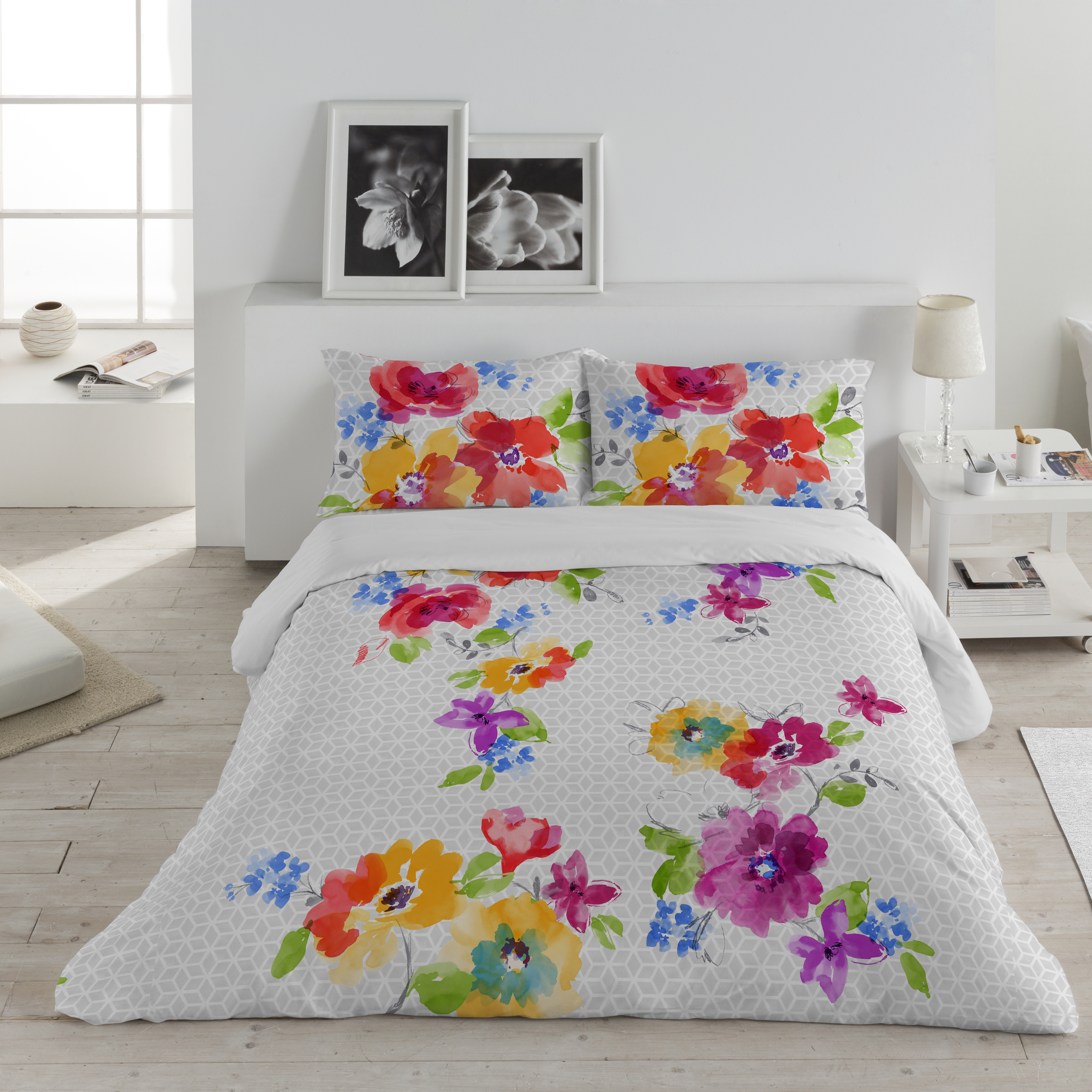 vegetation ambesonne bath leaves duvet watercolor wayfair reviews set artwork of bed colorful leaf island palm tropical pdx